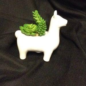 Llama Succlent Planter
